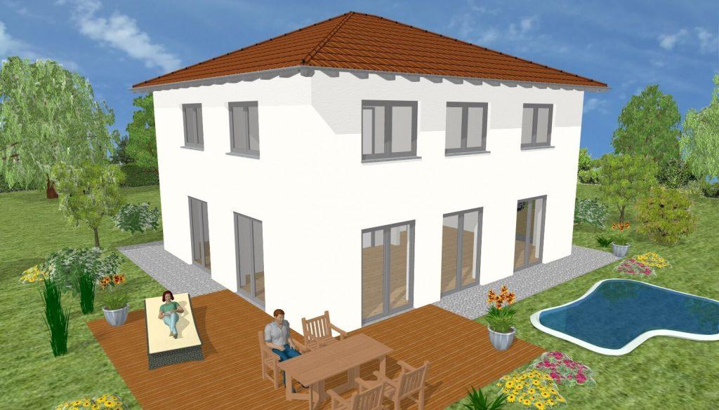 Hausvarianten Ansicht 1