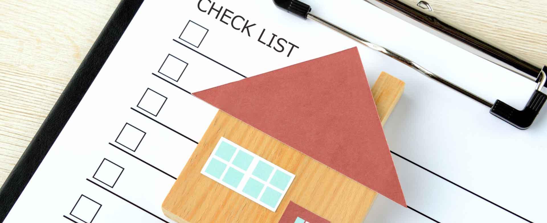Checkliste rund um den Hausbau